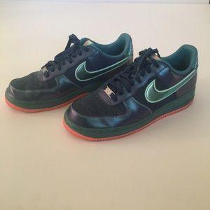 Nike 488298-420 AF1 Low Top Unisex Sneakers Mens 8